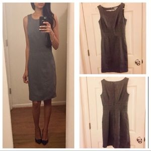 Fitted Gray Dress